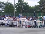 親善交流ジュニアリーグ野球大会開会式